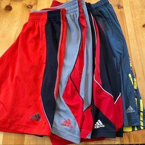 Bundle of Adidas shorts